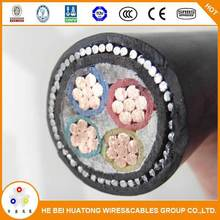 multi-core 0.6/1kv PVC Insulated and Sheathed, SWA Armoured cable bs 6346 standard power cable cable