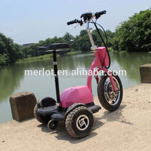New design three wheeler standing up cheap mopeds with big front tire