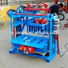 QT4-45 máquina de bloque manual (venta caliente ) de la máquina de fabricación de ladrillo de cemento