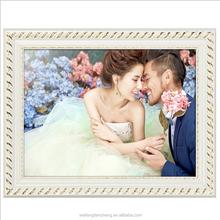 Creative wedding picture frames wooden pine