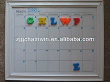 Magnetic Printed Whiteboard With Grid Line