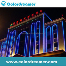 digital madrix Pixel rgb dmx led pixel bar use for the facade building