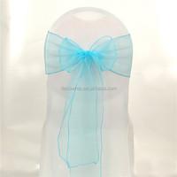 2015 Beautiful Organza Wedding Sash For Chair Cover