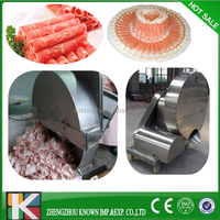 small model full automatic portable automatic meat slicer for mutton beef