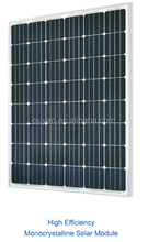 Grade A High efficiency Solar panel Monocrystalline 200W24V to charge 12V battery bank for small solar power system