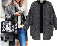 HOT Womens Autumn Winter Jackets and Coats 2015 New Brand Casual Wild Women Coat Tops