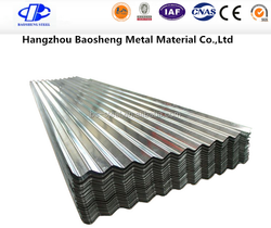 Color corrugated plastic roofing sheets/color coated roofing sheet/warehouse roofing material