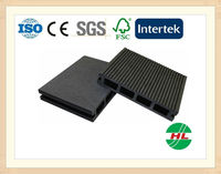140x25 extruded plastic composite decking / bamboo plastic composite deck / bamboo composite decking