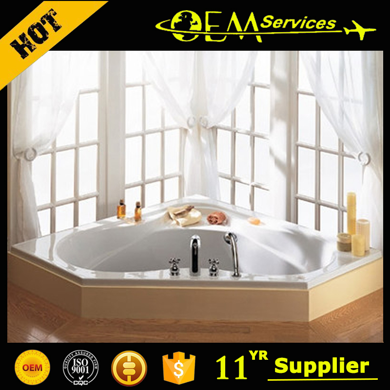 Professional Oem Manufacturer Corner Bath Arc Apron Bathtub Walk In Bathtub C