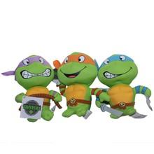 2015 Hot sale Teenage Mutant Ninja Turtles plush toy stuffed turtles toy sea animal toy