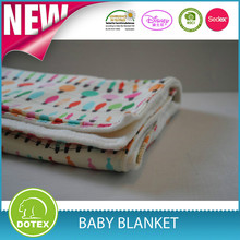 Best Quality High End China Made Baby Blanket soft printed blanket