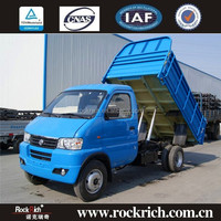 China Manufacture Dongfeng Brand Single Row 4*2 2-3T Mini Dump Truck For Sale