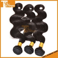 Free Shipping By DHL 5 Pieces 10inches Mongolian Body Wave Human Hair Extensions Double Drawn Weft