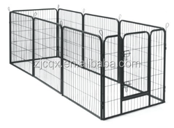 8P iron fence dog kennel
