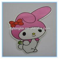 Custom cheap art laminated paper sticker