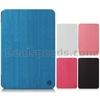 Joyroom Smart Wake Sleep Flip Tri-fold Stand Linen Texture Leather Cases for iPad Air (White)