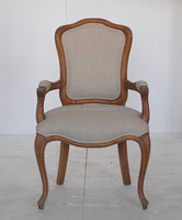 Simple Fabric Banquet Guest Chair Italian Antique Furniture For Sale