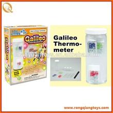 La ciencia y la educación series--Galileo thermo-meter, juguetes de la ciencia para los niños OT9722174