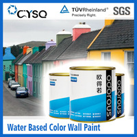 Water Based color exterior paint