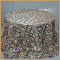 TC044F For sale cheap beige crochet table cloth for wedding party