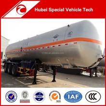 New Arrival CLW 58.5cbm 23.58 ton Payload LPG tanker Semi-Trailer