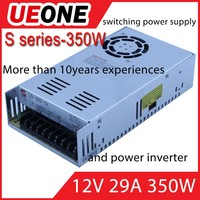 12v29a LED power supply 12v 350w single output switching power supply