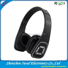 Wireless stereo headphone with sd card multimedia headphone for cell blackberry