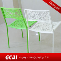 Home furniture low cost hotel rest pp plastic chair