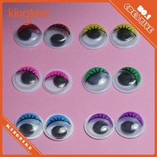 DIY animal eye colorful safty moving plastic eyes