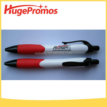 Promotional Customized Plastic White Tulip Ballpoint Pen