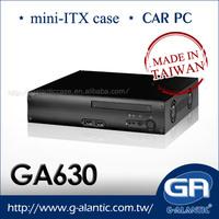 GA630 Mini ITX pc Case for Car PC