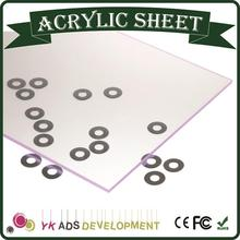 Any color acrylic sheet white board customized ROHS,SGS free samples