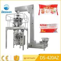 Hot sale automatic weighing dumplings frozen food packing machine