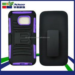 Belt Clip Holster Hybrid Cover Phone Case for samsung galaxy s6