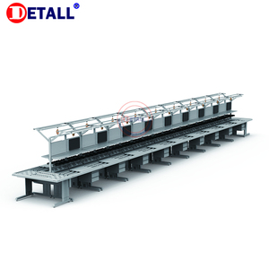 Detall ESD electrónico portátil línea de montaje estación