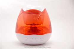 High Portable Mini Waterproof bluetooth led lamp speaker used for phone or pc