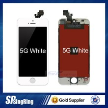 China factory Newest Model Premium Quality Tailored Mobie Phone Lcd for iphone 5G lcd screen assembly