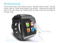 bluetooth watch phone 1.55'' touch screen with bluetooth made in china
