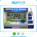 Crianças beliches cama de madeira baratos miúdos bonitos 8202