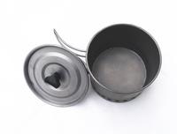 2015 hot sale outdoor titanium pot for climbing