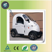 Closed 3-wheel motorcycle electric car for sale for passenger, cheap electric cars for sale