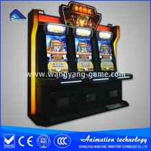 Video game console coin pusher machine 6 player coin pusher game machine 32'' display coin pusher machine