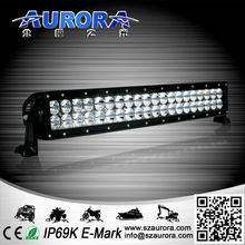 anti vibration multiple style 20inch dual row led work light for truck accessories
