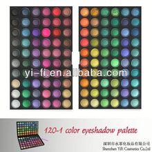 2012 Hot! 120-1 eyeshadow palette high quality oem eyeshdow