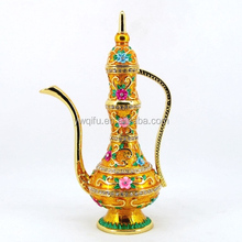 Wholesale popular Metal Golden Aladdin Lamp trade gift item(QF3369-002)