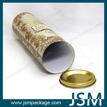 wholesale eco-friendly paper cardboard tube packaging for wine