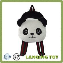 2015 Children Plush Panda School Bag Backpacks