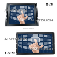 10.4 inch 4:3 Open Frame atm card making machine 1024x768 Resistive Touch Screen