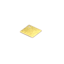 10mm custom earring accessories square charms