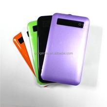 Colorful Ultra Thin 3500mAh Power Bank for Iphone/ipad/mp4/mp5